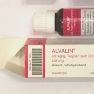 Alvalin 40mg/g Name: Alvalin Dosage: 40mg/g Package: 15 mL Bottle