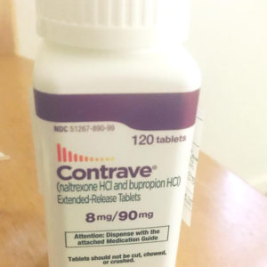 Contrave 8mg/90mg - 120 Tablets per box