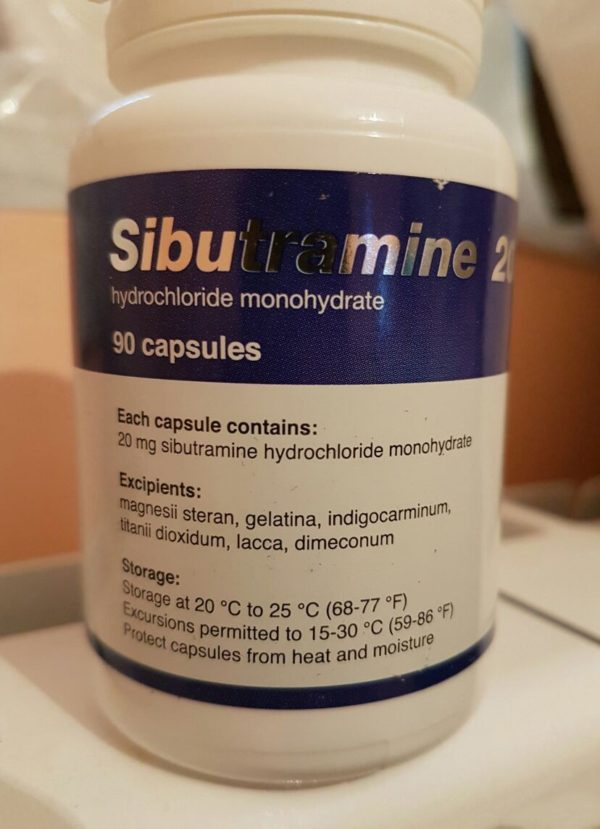Sibutramine 20mg Name: Sibutramine Dosage: 20mg Package: 90 Capsules pack