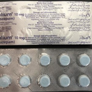 Valium 10mg (Diazepam) Name:Valium Dosage: 10mg
